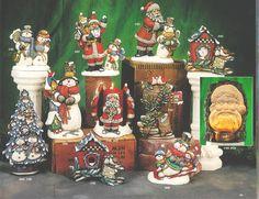 christmas ceramics