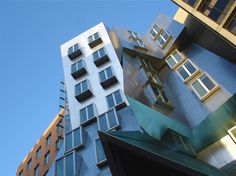 Gehry building, MIT Cambridge, Boston.  Loved visiting this building!