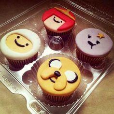 cupcake festa hora de aventura