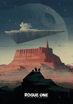 Rogue One: A Star Wars Story by Travis Ruiz – Home of the Alternative Movie Poster -AMP- Star Wars Fan Art, Star Wars Film, Nave Star Wars, Star Wars Poster, Affiche Star Trek, Rogue One Poster, Rogue One Star Wars, Cuadros Star Wars, Star Wars Painting