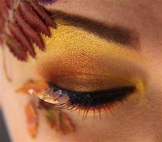 Contributor: Jangsara: http://jangsara.blogspot.com/ Products Used: Sun Yellow - Lower lashline, inner corner, highlight (MakeupGeek Store) Aztec Gold -