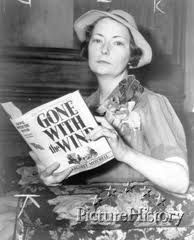 """Margaret Mitchell - drove by her house the other day - wanted to throw a cherry slurpee onto her lawn """"Your Movie Sucks!!"""" She wrote the book not the movie and it's not a historical landmark for no reason. She captured the life of a southern belle turned by the civil war, and it was later turned into a movie that helped many people during the Great Depression enjoy themselves and get away from their reality. She is also dead and wouldn't care what you have to say. Respect the history."""