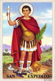 Testimonios para Crecer: San Expedito, 19 de Abril