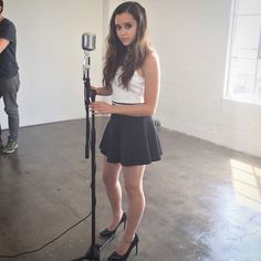 Tiffany Alvord, Megan Nicole, Dresses For Tweens, Face Claims, Youtubers, Skater Skirt, Eye Candy, Mini Skirts, Lily
