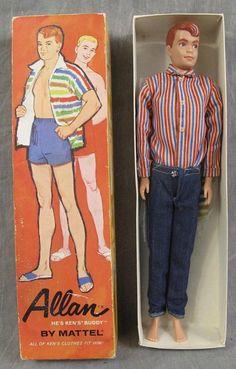 """He's Ken's """"buddy"""". I always thought Ken was really Barbie's best friend..."""