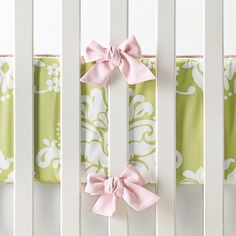 Kate Crib Bedding Collection super cute with the bows