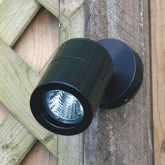 Elipta Compact wall spot - Black - 240v-GU10