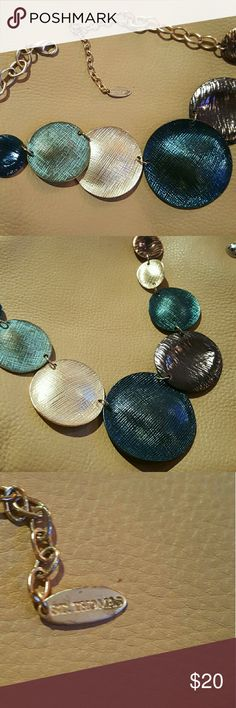Gold St Thomas Necklace Gold fashion Necklace St Thomas Jewelry