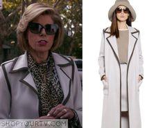 The Good Wife: Season 7 Episode 9 Diane's White Trim Coat