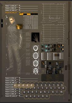 Deus Ex : Human Revolution : Operating System on Behance