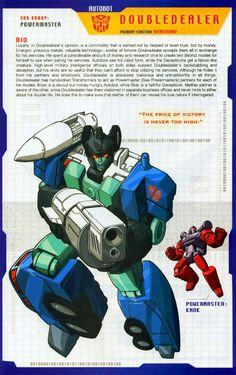 Transformer of the Day: Doubledealer (Part 1)