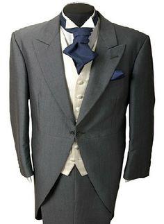 wedding tails and top hat cravat