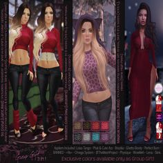 THIRD LIFE [ Frees, Gifts & Hunts ]: BEAUTIFUL DIRTY RICH - 3 IN 1