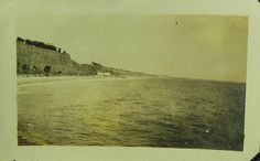Photo: Looking in from the Long Wharf 1919,Santa Monica,California.
