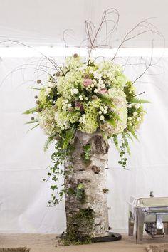 #centerpiece  Photography: Janie Osborne - janieoweddings.com  Read More: http://www.stylemepretty.com/northwest-weddings/2014/02/20/montana-ranch-wedding/