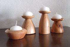 Shop now found wood lathe projects Wood Turning Lathe, Wood Turning Projects, Wood Lathe, Lathe Projects, Wood Projects, Wooden Candle Holders, Wooden Bowls, Wooden Vase, Wood Creations