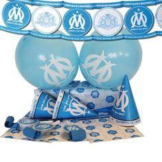 Kit Déco Malin - OLYMPIQUE DE MARSEILLE© http://www.scrapmalin.com/anniversaire_enfant/kit-deco-malin-olympique-de-marseille-p200967.html