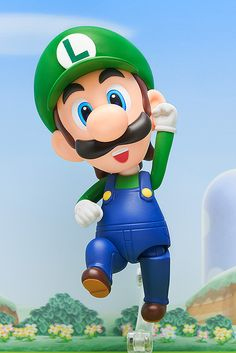 ToyChestnews | Action Figure and Collectible Toy News, Release Dates and More - The Super Mario: Luigi Nendoroid Jumps Into Comic Shops