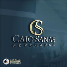 Caio Sanas Advogados / Criação de Logo