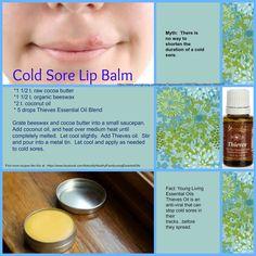 Cold Sore Lip Balm