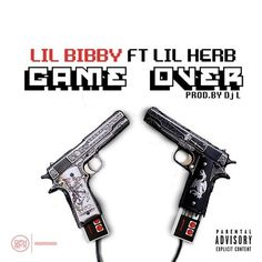 """Chicago up & comers, Lil Bibby and Lil Herb link up once again for a new collab titled """"Game Over' produced by DJ L. This will appear on 'Free Crack dropping August Hit page 2 for the audio."""