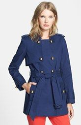 kate spade new york 'stergis' trench coat