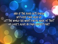 ▶ Glow In the Dark - Jason Gray - YouTube Listen to the words of this song....AMAZING!!! ❤️