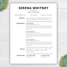 Resume Template Word Mac Professional Resume Template  Cover Letter Template References Ms .