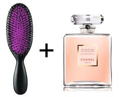 Spray perfume onto your hairbrush to leave your locks with a light but lovely scent. 20 Life Hacks for Your Beauty Routine - Daily Makeover