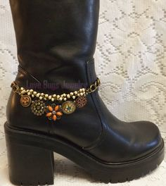 Evening in Pairs Boot Jewelry , Boot Bracelet, Boot Bling, Boot Jewelry, Cowgirl Boot Bling, Boot Band Bracelet on Etsy, $22.99