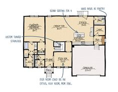 Madison B House Plan | Schumacher Homes | When we build our dream ...