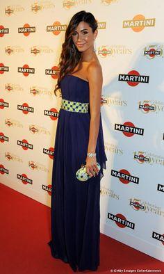 Federica Nargi al party per i 150 di Martini, il 19 settembre 2013 a Como.