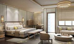 HWCD Home Bedroom, Bedroom Furniture, Bedrooms, Beachy Room, Hotel Room Design, Hotel Interiors, Room Planning, Home Interior Design, House Design