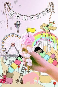 Grass, sprinkles and more insane manicures #fingernailart