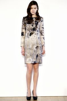 basso and brooke print dress