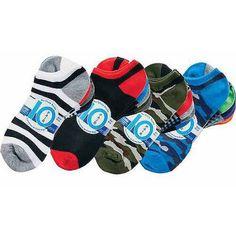 Faded Glory Boys' Socks, 10 Pack, Assorted