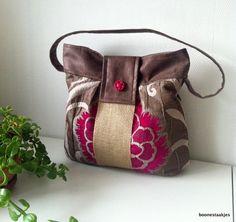 shoulder bag handbag purse by boonestaakjes on Etsy, $65,00