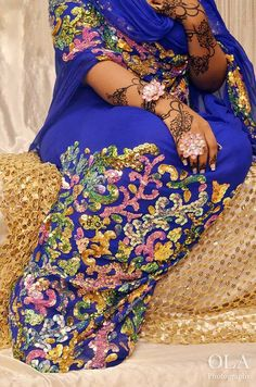 Image result for sudanese toub and henna