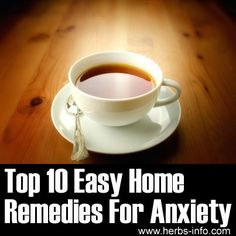 ❤ Top 10 Easy Home Remedies For Anxiety ❤