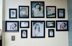 104 best picture frames arrangement ideas images on pinterest diy