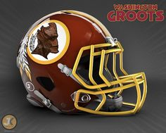Marvel Comics-inspired football helmets debut as NFL Draft, 'Age of Ultron' arrive Lsu Helmet, Helmet Logo, Sports Helmet, College Football Helmets, Football Team, American Football, Redskins Fans, Redskins Football, Nintendo