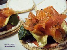 Receta Sandwich de salmon con aguacate y crema de queso, para Acocinear - Petitchef