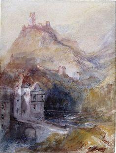 Cochem on the Mosel c.1839 - Joseph Mallord William Turner