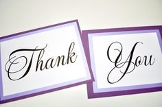 Wedding THANK YOU Signsphoto props by JaxDesigns27 on Etsy, $13.50