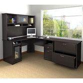 Cabot 3-piece L Shape Executive Desk Office Suite