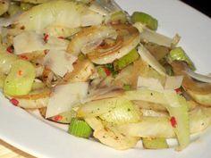 Gebratener Fenchel mit Balsamico und Pecorino #Rezept