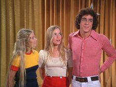 Image of Jan, Marcia & Greg for fans of The Brady Bunch.