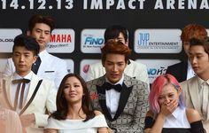 20141213 Press Conference - JYPNATION IN BANGKOK 2014, Impact Arena