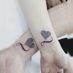 Love tattoos, tatoos, thumbprint tattoo, tattoos for daughters, mother Daddy Tattoos, Cute Tattoos, Small Tattoos, Tattoos For Guys, Tattoos For Women, Tattoos Skull, Body Art Tattoos, Tribal Tattoos, Sleeve Tattoos