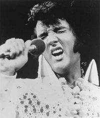 "The 1973 special ""Aloha from Hawaii"" captures Elvis at the peak of his concert performance."